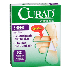 Buy Curad Sheer Adhesive Bandages by Curad wholesale bulk | Adhesive Bandages