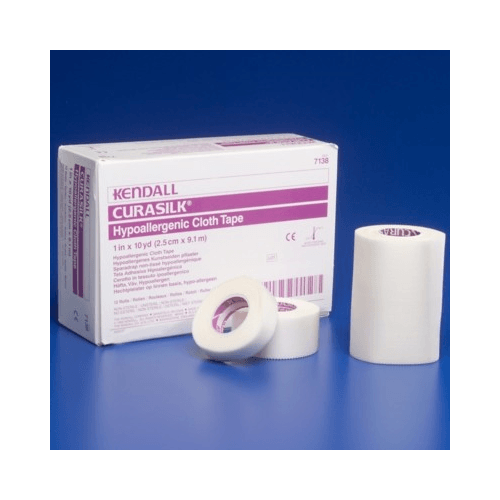 Curasilk Hypoallergenic Cloth Tape 10 Yard Roll - Gauze, Tapes & Bandages - Mountainside Medical Equipment