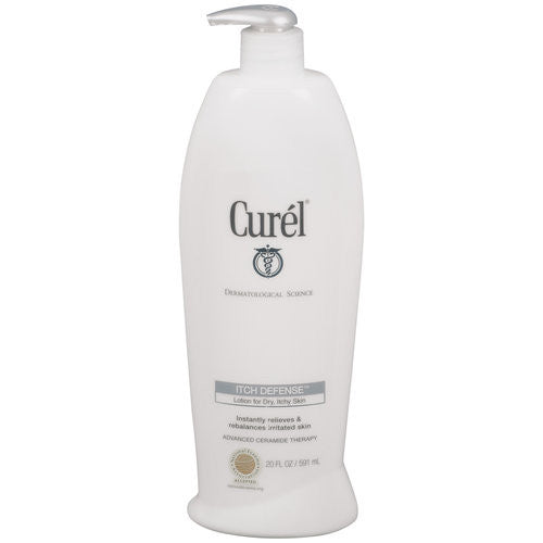 Buy Curel Itch Defense Skin Lotion 20 oz online used to treat Skin Care - Medical Conditions