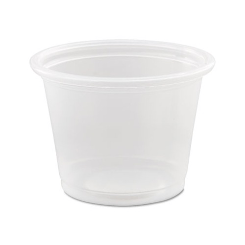 Dart Conex Polypropylene Portion Cups 3.25 oz, Clear 2500/Case