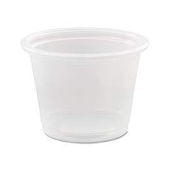Dart Conex Polypropylene Portion Cups 3.25 oz, Clear 2500/Case for Kitchen & Bathroom by n/a | Medical Supplies