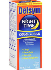 Buy Delsym Adult Nighttime Cough and Cold 4 oz by Reckitt Benckiser from a SDVOSB | Cold Medicine