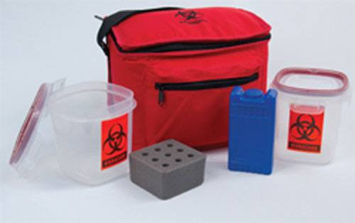 Deluxe Blood Sample Transport System - Specimen Collector - Mountainside Medical Equipment