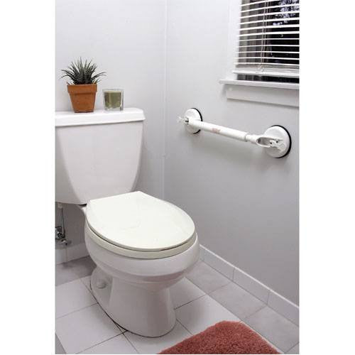 Buy Deluxe International Grade Adjustable Length Suction Cup Grab Bar online used to treat Grab Bars - Medical Conditions