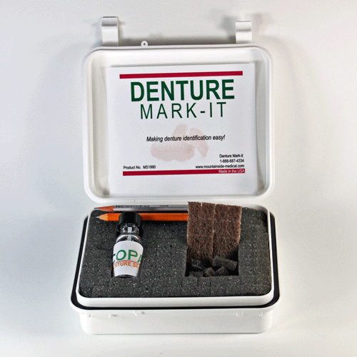 Buy Deluxe Mark-It Denture Marking Kit by Mountainside Medical Equipment | Home Medical Supplies Online