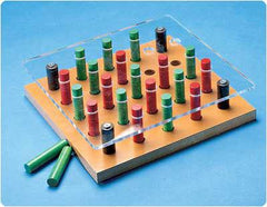 Depth Perception Pegboard Set for Sensory Motor Integration Products by Patterson Medical | Medical Supplies