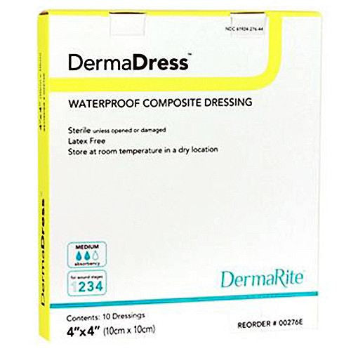 Buy DermaDress Waterproof Composite Dressing by Dermarite | n/a
