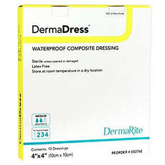 Buy DermaDress Waterproof Composite Dressing online used to treat n/a - Medical Conditions