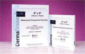 DermaDress Waterproof Composite Dressing - n/a - Mountainside Medical Equipment