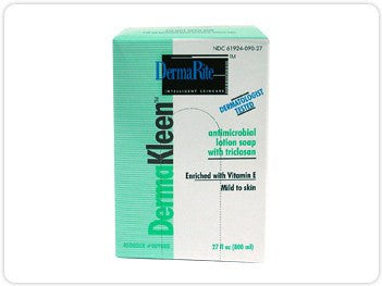 Derma Kleen Antimicrobial Lotion Soap Triclosan Free 800 ml Refill Bag