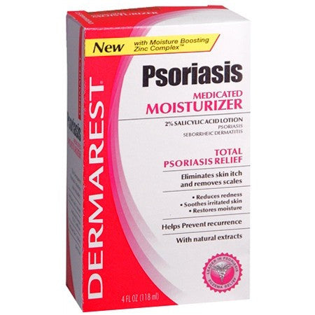 Dermarest Psoriasis Medicated Moisturizer 4 oz for Skin Care by Insight Pharmaceuticals LLC | Medical Supplies