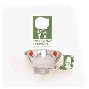 Opti-Klens Wall Mounted Emergency Eyewash Station