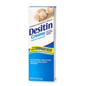 Buy Desitin Creamy Diaper Rash Cream 4 oz online used to treat Skin Care - Medical Conditions