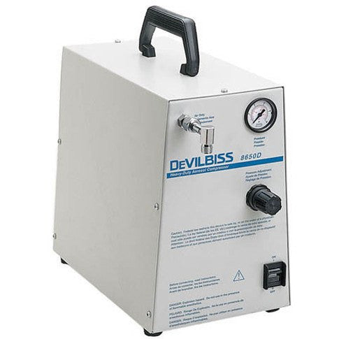 Devilbiss Heavy Duty Compressor Nebulizer System 8650D