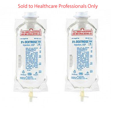 IV Fluid Solution Bags for IV Therapy - Intravenous Solution - Mountainside Medical Equipment