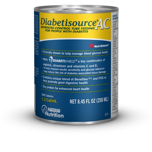 Buy Diabetisource AC 250mL Cans 24/Case by Nestle Health Science online | Mountainside Medical Equipment