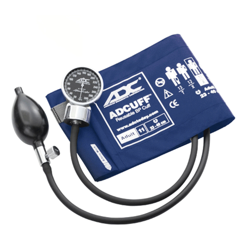 Buy ADC Diagnostix 700 Series Pocket Aneroid Sphygmomanometer by ADC from a SDVOSB | Blood Pressure Monitors
