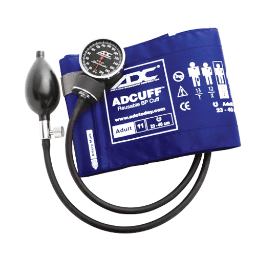 ADC Diagnostix 720 Series Aneroid Sphygmomanometer - Aneroid Sphygmomanometer - Mountainside Medical Equipment