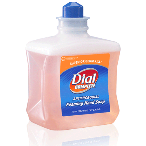 Buy Dial Complete Foaming Hand Soap, 1 Liter Refill, 6/Case online used to treat Hand Soaps - Medical Conditions