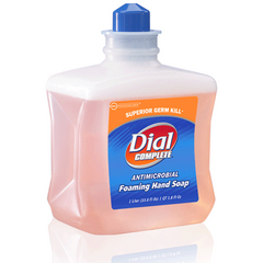 Buy Dial Complete Foaming Hand Soap, 1 Liter Refill, 6/Case by Dial Corporation | Home Medical Supplies Online
