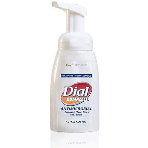 Buy Dial Complete Antimicrobial Foaming Hand Soap 7.5 oz, 12/Case by Dial Corporation online | Mountainside Medical Equipment