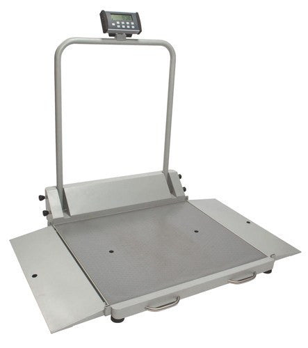 Digital Fold-Up Wheelchair Dual Ramp Scale - Scales - Mountainside Medical Equipment
