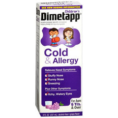 Buy Childrens Dimetapp Cold and Allergy Medicine 8 oz by Wyeth Pfizer wholesale bulk | Cold Medicine