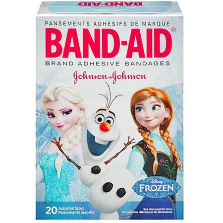 Disney's Frozen Band-Aid Adhesive Bandages for Gauze, Tapes & Bandages by Johnson & Johnson | Medical Supplies