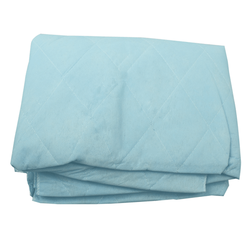 Buy Non-Woven Blue Hospital Blankets 30/Case by Dynarex | Home Medical Supplies Online