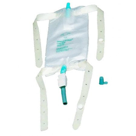 Buy Dispoz-A-Bag Leg Bag with Rubber Cap Valve online used to treat Urine Bags - Medical Conditions