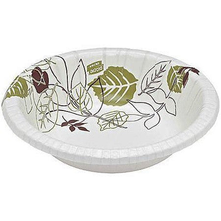 Dixie Ultra 20 oz. Paper Bowls, Modern Design, Heavy Weight 500/Case