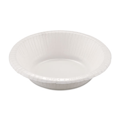 Dixie Basic Clay Coated Round Paper Bowl, 12 oz, White 1000/Case for Kitchen & Bathroom by Dixie | Medical Supplies