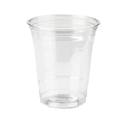 Dixie Plastic Cold Drinking Cups, Clear 500/Case for Kitchen & Bathroom by Dixie | Medical Supplies