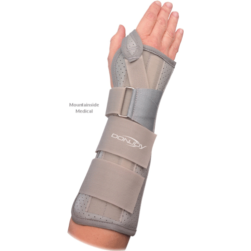 Buy Donjoy Contoured Wrist and Forearm Splint by DonJoy | SDVOSB - Mountainside Medical Equipment