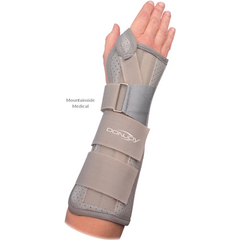 Buy Donjoy Contoured Wrist and Forearm Splint used for Wrist Splints by DonJoy