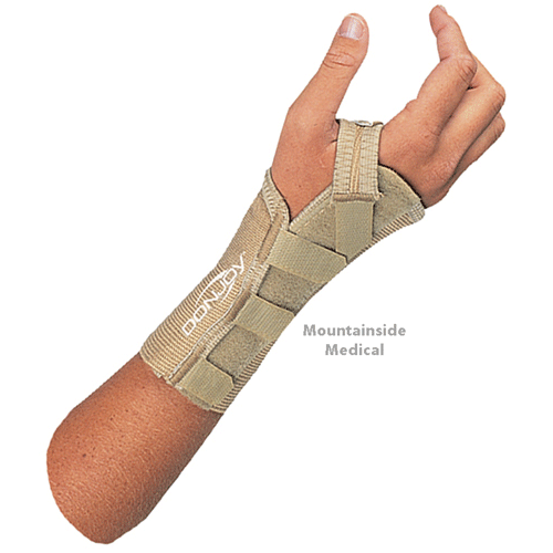 Buy Donjoy Elastic Wrist Splint by DonJoy online | Mountainside Medical Equipment