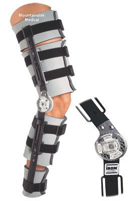Donjoy IROM Telescoping Leg Brace - Leg Braces - Mountainside Medical Equipment