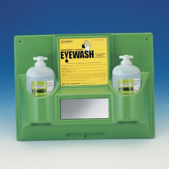 Emergency Double Eyewash Station 32 oz - Eye Products - Mountainside Medical Equipment