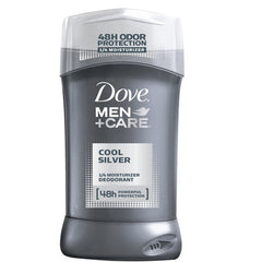 Buy Dove Men+Care Cool Silver Deodorant Stick, 48 Hour Odor Protection online used to treat Mens Deodorant - Medical Conditions