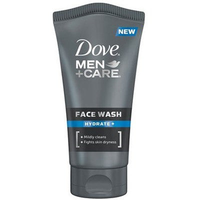 [price] Dove Men+Care Hydrate Face Wash, 5 oz used for Acne made by DOT Unilever [sku]