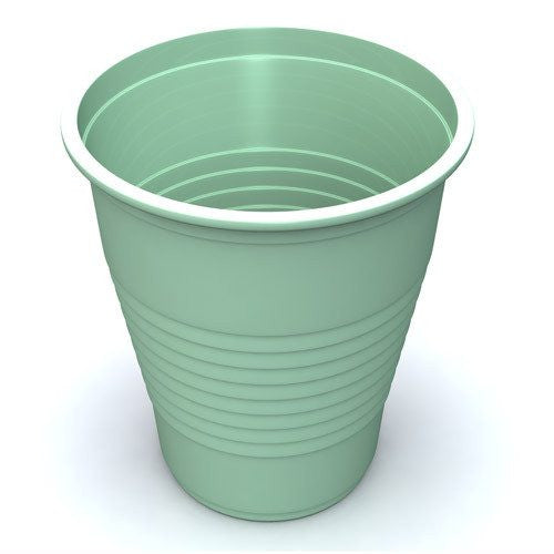 Colored Plastic Drinking Cups, 1000/Case