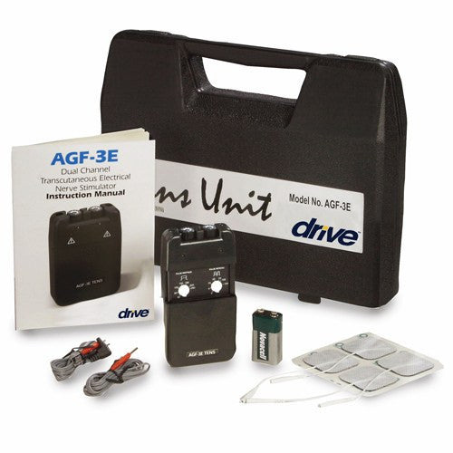 Buy Complete TENS Pain Relief Machine with Carrying Case by Drive Medical | Home Medical Supplies Online