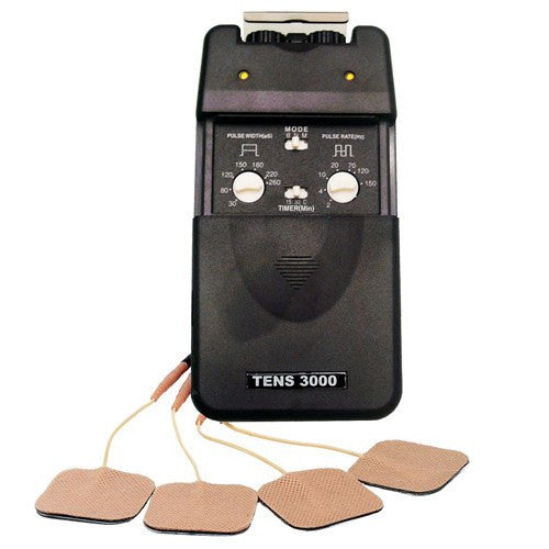 Drive Tens Unit  Dual Channel, 3 Modes with Timer for Physical Therapy by Drive Medical | Medical Supplies