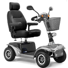 Prowler 4-Wheel Large Power Scooter with Swivel Seat for Scooters by Drive Medical | Medical Supplies