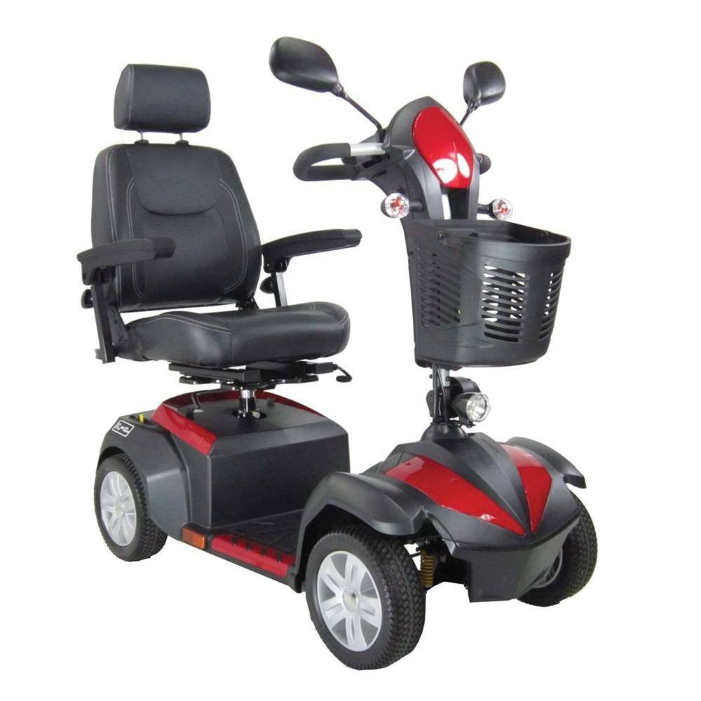 Ventura 4 DLX Midsized Power Scooter for Scooters by Drive Medical | Medical Supplies
