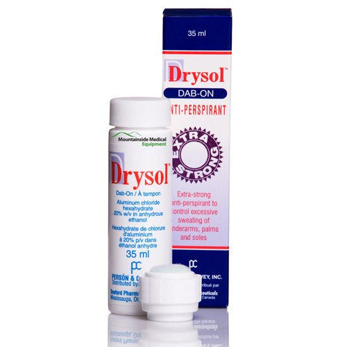Buy Drysol Anti-Perspirant Dab-On Deodorant 37.5 mL online used to treat Arms - Medical Conditions