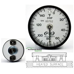 Buy Bi-Metal Dual Magnetic Surface Thermometer by n/a from a SDVOSB | Thermometers