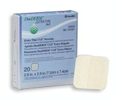5-Pack Duoderm CGF Hydrocolloid Dressings 6 x 6 - Hydrocolloid Dressing - Mountainside Medical Equipment