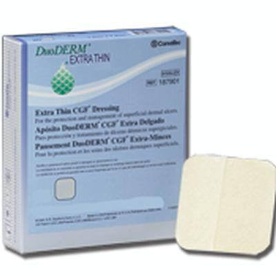 5-Pack Duoderm Extra Thin CGF Dressings 6 x 6