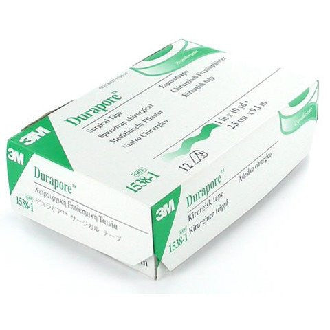 3M Durapore Surgical Silk Tape (Hypoallergenic), Box - Medical Tape - Mountainside Medical Equipment